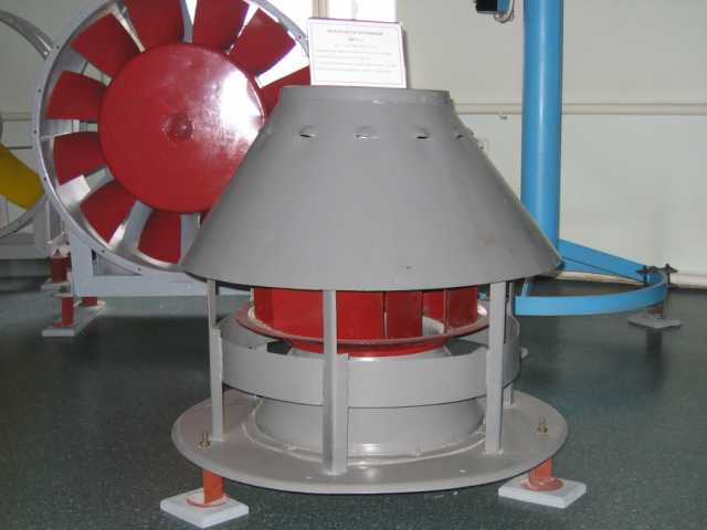 Крышный вентилятор ВКР (640x480) (3900 просмотров)